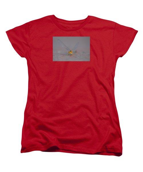Women's T-Shirt (Standard Cut) featuring the photograph Hello by Ramona Whiteaker