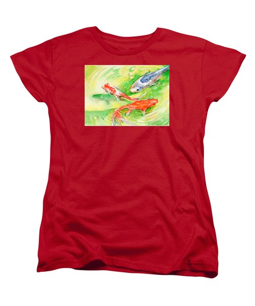 Here Comes Moby Women's T-Shirt (Standard Cut) by Judith Levins