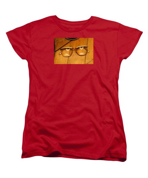 Here's Looking At You Women's T-Shirt (Standard Cut) by Paul  Wilford