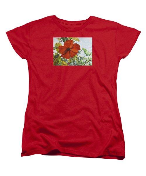 Hibiscus St Thomas Women's T-Shirt (Standard Cut)