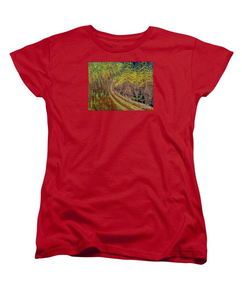 Highway 70 East Circa 1905 Women's T-Shirt (Standard Cut) by David Joyner