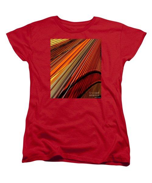 Highway To Sun Women's T-Shirt (Standard Cut) by Thibault Toussaint