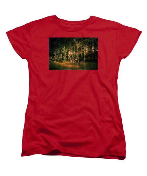 Women's T-Shirt (Standard Cut) featuring the photograph Holiday Handsome Cab by Kristal Kraft