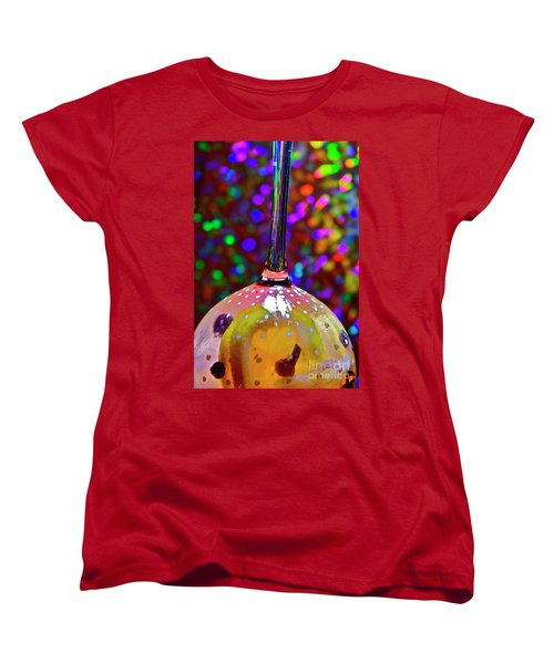 Women's T-Shirt (Standard Cut) featuring the photograph Holographic Fruit Drop by Xn Tyler