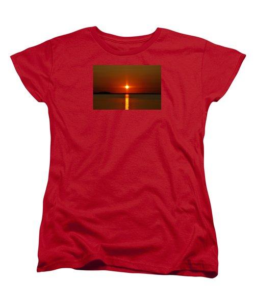 Holy Sunset Women's T-Shirt (Standard Cut) by William Bartholomew