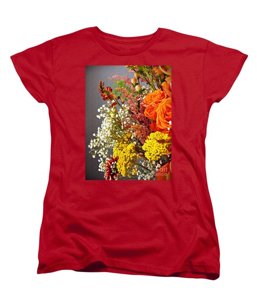 Women's T-Shirt (Standard Cut) featuring the photograph Holy Week Flowers 2017 2 by Sarah Loft