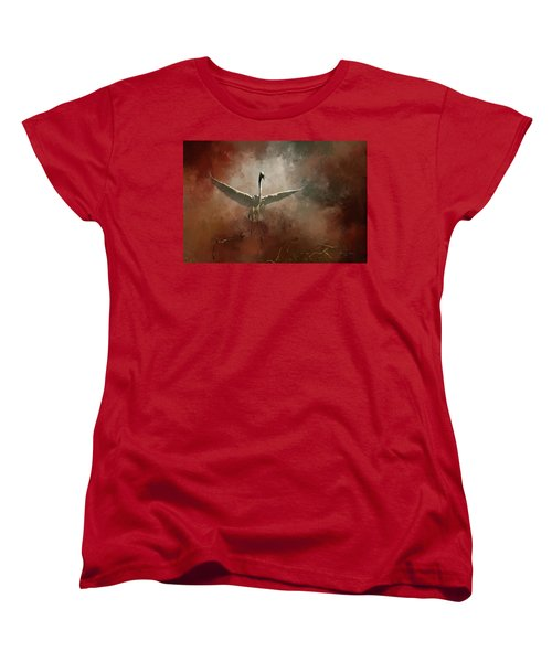 Women's T-Shirt (Standard Cut) featuring the photograph Home Coming by Marvin Spates