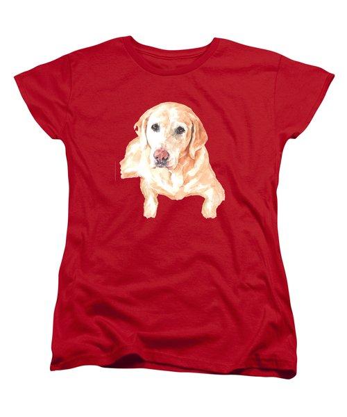 Honey Lab T-shirt Women's T-Shirt (Standard Cut) by Herb Strobino