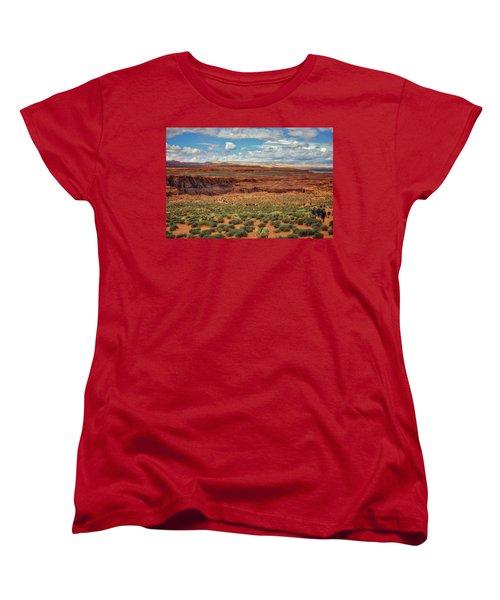 Horseshoe Bend  - Arizona Women's T-Shirt (Standard Cut) by Jennifer Rondinelli Reilly - Fine Art Photography