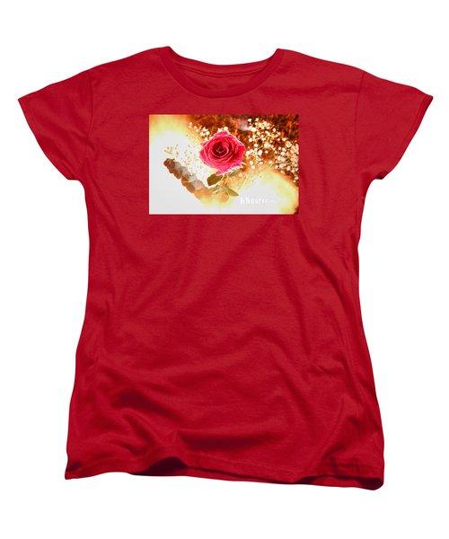 Hot Beauty Women's T-Shirt (Standard Cut) by Andrew Nourse