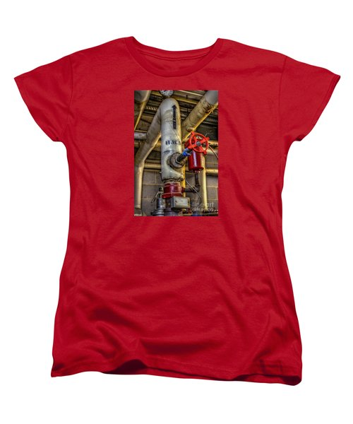 Hot Water Supply Women's T-Shirt (Standard Cut) by Dan Stone