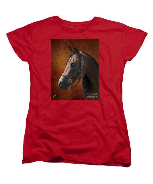 Houston Women's T-Shirt (Standard Cut) by Jim  Hatch