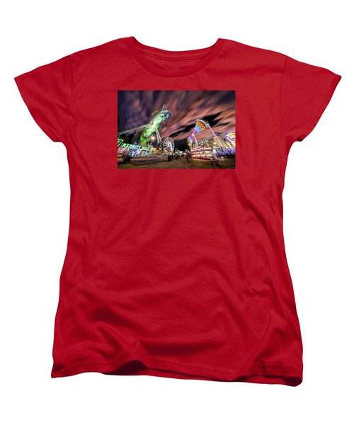 Houston Texas Live Stock Show And Rodeo #1 Women's T-Shirt (Standard Cut) by Micah Goff