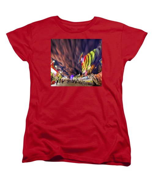 Houston Texas Live Stock Show And Rodeo #3 Women's T-Shirt (Standard Cut) by Micah Goff