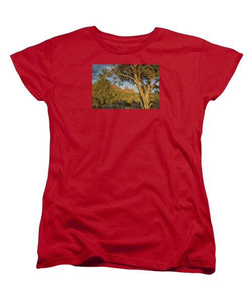 Women's T-Shirt (Standard Cut) featuring the photograph Huckabee by Tom Kelly