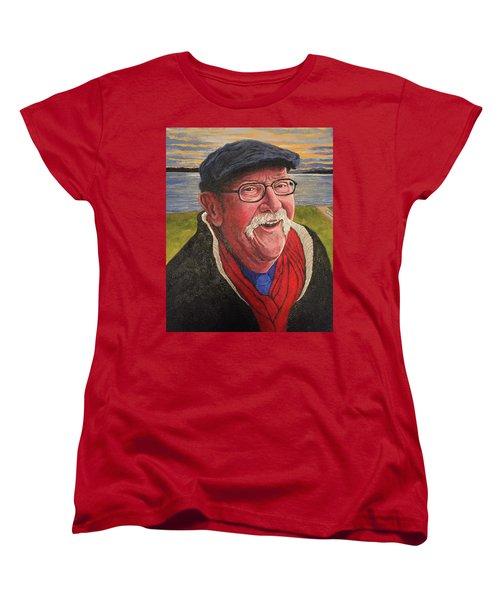 Hugh Hanson Davidson Women's T-Shirt (Standard Cut) by Tom Roderick