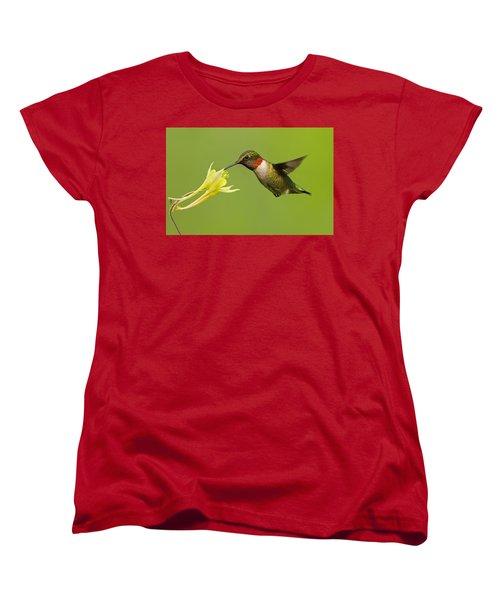 Hummingbird Women's T-Shirt (Standard Cut) by Mircea Costina Photography