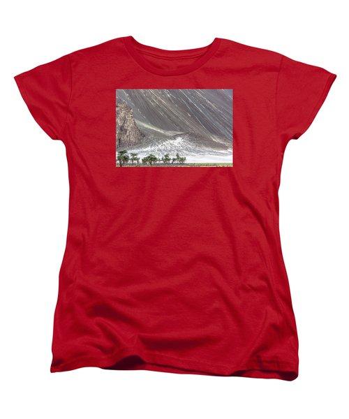 Hunder Desert Women's T-Shirt (Standard Cut) by Hitendra SINKAR