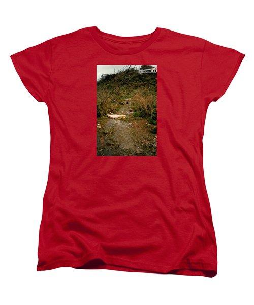 Hurricane12 Women's T-Shirt (Standard Cut) by Robert Nickologianis