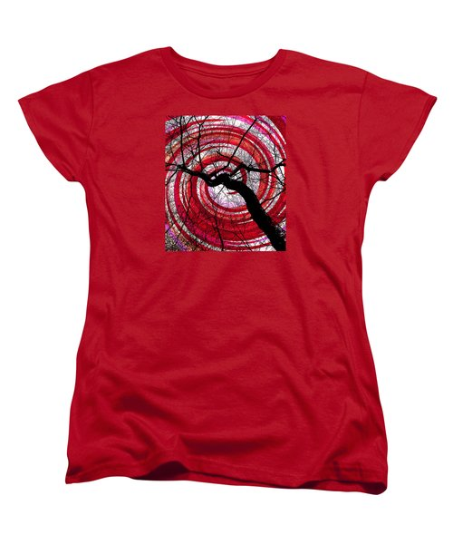 Women's T-Shirt (Standard Cut) featuring the photograph Hypnotic Nature by Shawna Rowe