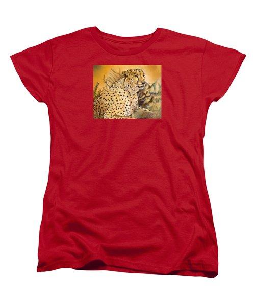 I Am Cheetah Women's T-Shirt (Standard Cut) by Marilyn  McNish