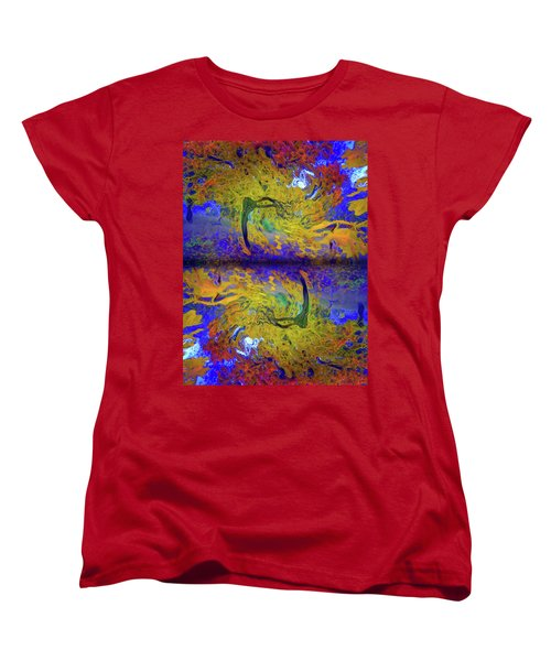 Women's T-Shirt (Standard Cut) featuring the photograph I Will Dance With You In This Storm by Tara Turner