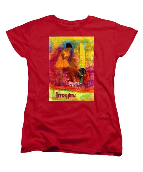 Imagine Winning Women's T-Shirt (Standard Cut) by Angela L Walker