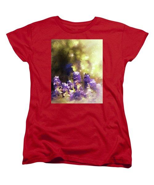 Impressions Of Muscari Women's T-Shirt (Standard Cut) by Lois Bryan