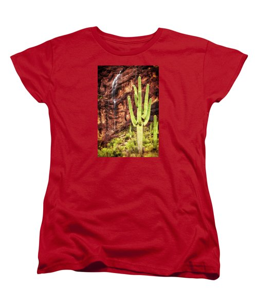 In A Dry And Thirsty Land Women's T-Shirt (Standard Cut) by Rick Furmanek