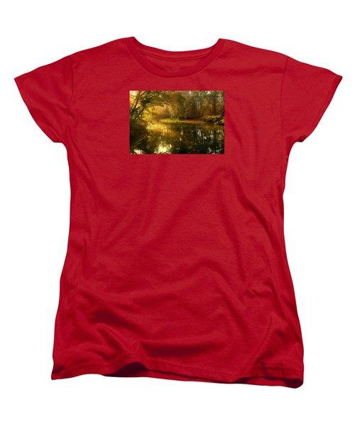 In His Presence Women's T-Shirt (Standard Cut) by Rob Blair