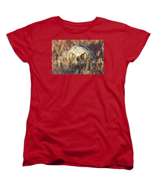 Incognito Women's T-Shirt (Standard Cut) by Scott Warner