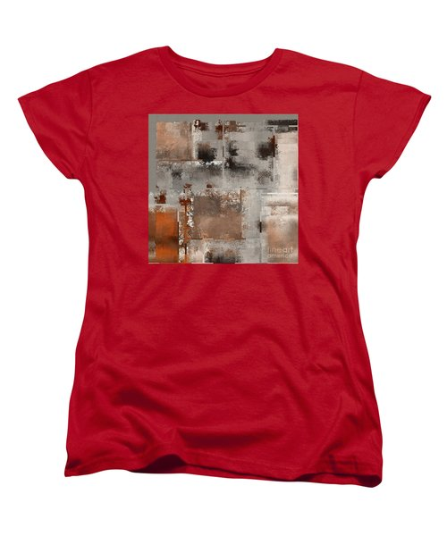 Industrial Abstract - 01t02 Women's T-Shirt (Standard Cut) by Variance Collections