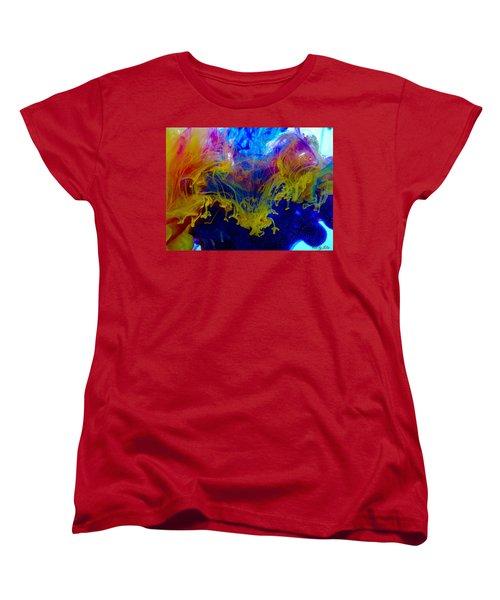 Ink Explosion 9 Women's T-Shirt (Standard Cut) by Lilia D