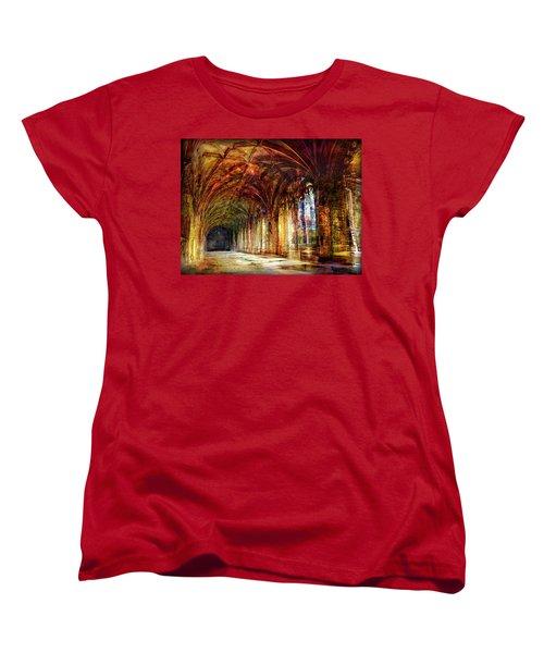 Inside 2 - Transit Women's T-Shirt (Standard Cut) by Alfredo Gonzalez