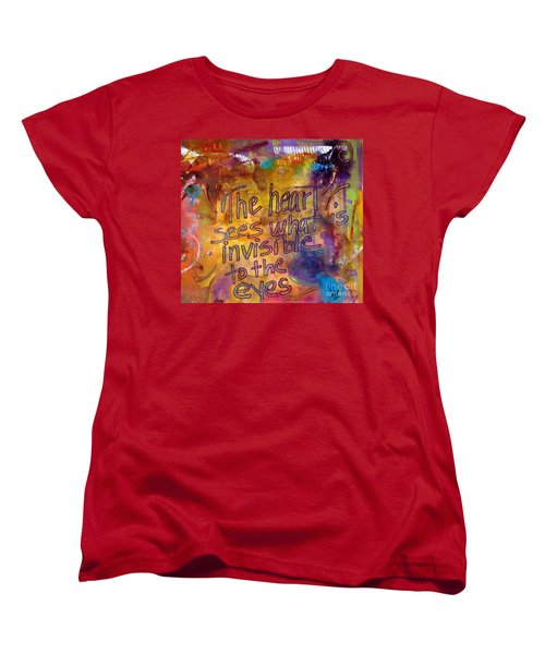Inside Out Women's T-Shirt (Standard Cut) by Angela L Walker