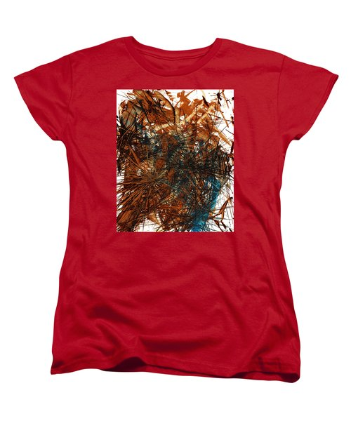 Intensive Abstract Expressionism Series 46.0710 Women's T-Shirt (Standard Cut) by Kris Haas