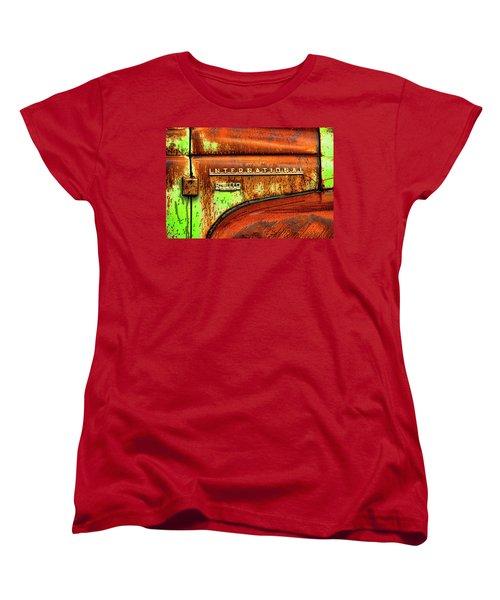 International Mcintosh  Horz Women's T-Shirt (Standard Cut) by Jeffrey Jensen