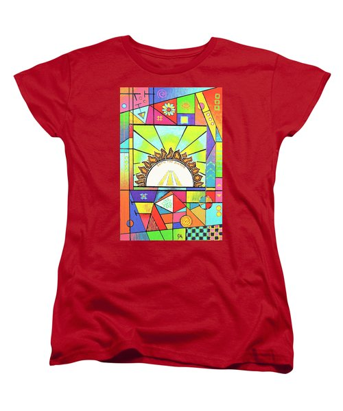 Into The Sun Women's T-Shirt (Standard Cut) by Jeremy Aiyadurai