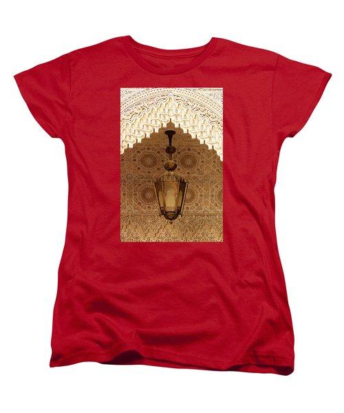 Islamic Plasterwork Women's T-Shirt (Standard Cut) by Ralph A  Ledergerber-Photography