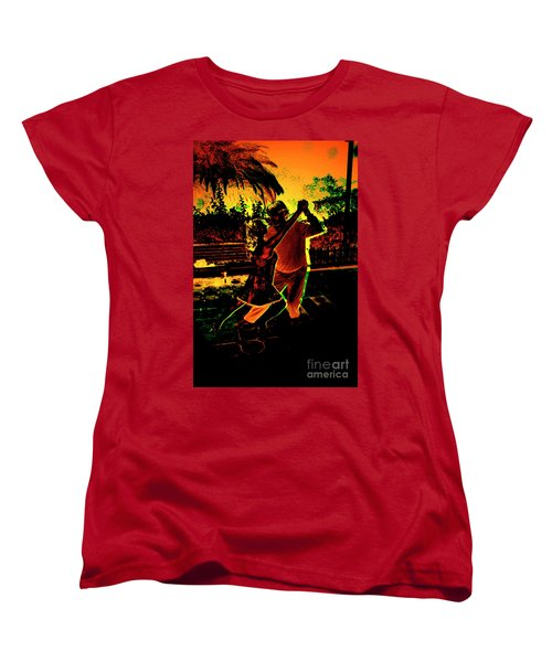 Women's T-Shirt (Standard Cut) featuring the photograph It Takes Two To Tango by Al Bourassa