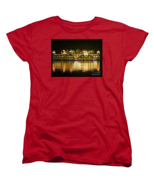 Jal Palace At Night Women's T-Shirt (Standard Cut)