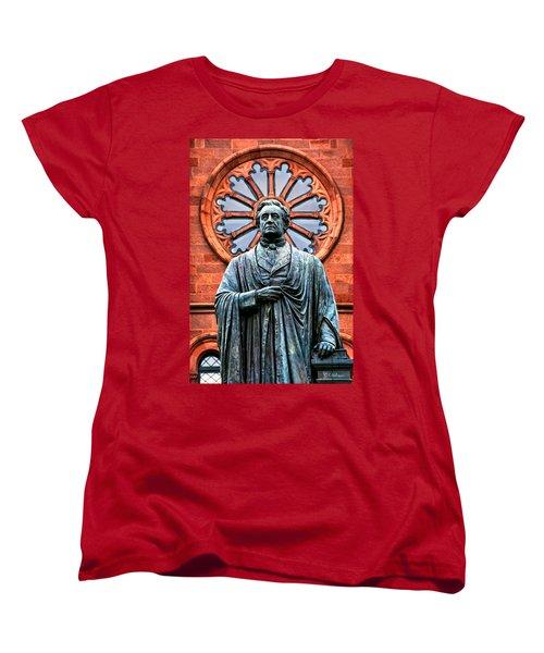 James Smithson Women's T-Shirt (Standard Cut) by Christopher Holmes