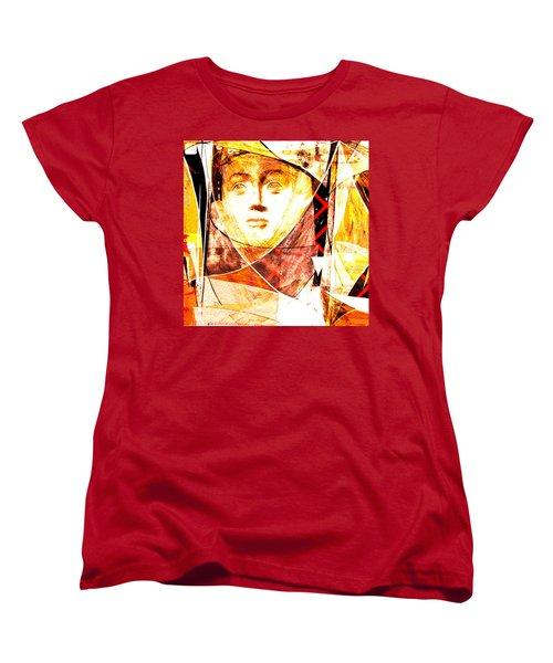 Women's T-Shirt (Standard Cut) featuring the photograph Je Aimerais Vivre Avec Vous by Danica Radman