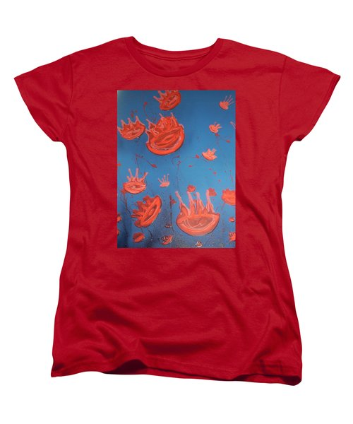 Jelly Fish Women's T-Shirt (Standard Fit)