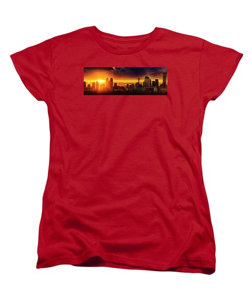 Women's T-Shirt (Standard Cut) featuring the photograph Jewel Of The Foothills by John Poon