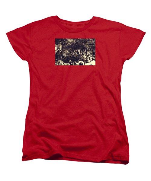 Women's T-Shirt (Standard Cut) featuring the photograph Jidai Matsuri Xii by Cassandra Buckley