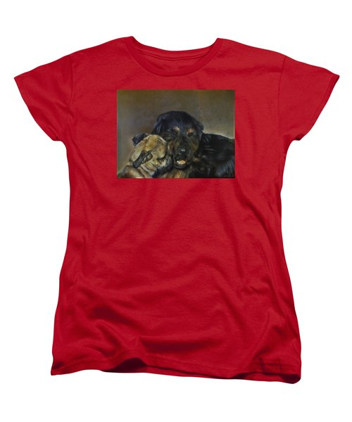 Jim And Ozzy Women's T-Shirt (Standard Cut) by Cherise Foster