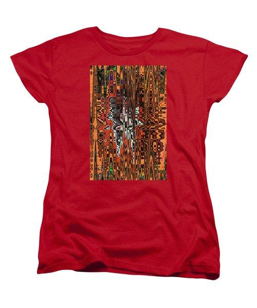 Jojo Abstract Women's T-Shirt (Standard Cut) by Tom Janca