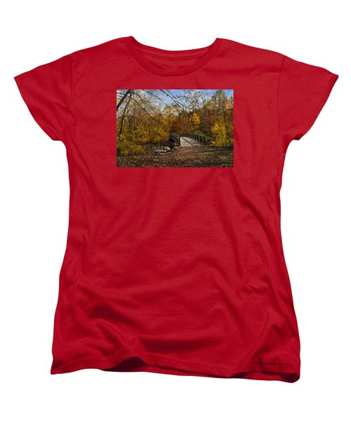 Jordan Park Bridge Women's T-Shirt (Standard Cut) by Judy Johnson