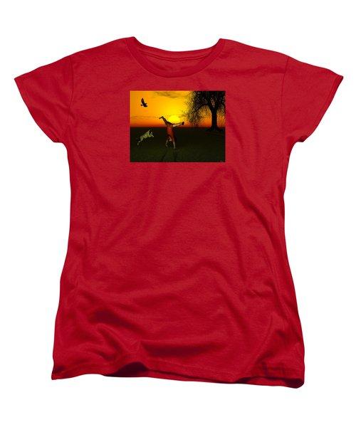 Joy Women's T-Shirt (Standard Cut) by Michele Wilson